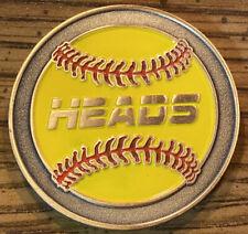New Style Yellow Softball Umpire Flip Coin