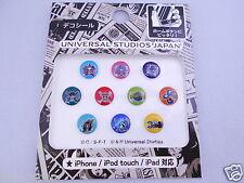 10pcs One Piece Home Button Sticker Apple iPhone Universal Studios Japan Limited