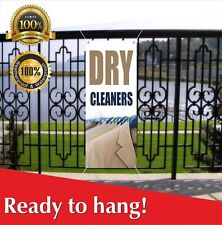 Dry Cleaners Banner Vinyl / Mesh Banner Sign Flag Many Sizes Dry Cleaning