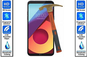 Genuine 100% TEMPERED GLASS Film Invisible HD Screen Protector Cover For LG V30