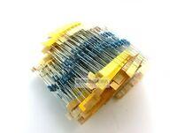 (1.2Ω–1M Ω) 500pcs 50 Values 1/2W 0.5W 1% Metal Film Resistors Assorted kit Set