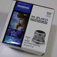 New Olympus M. Zuiko Digital ED 45mm f/1.8 Lens Silver FREE Shipping