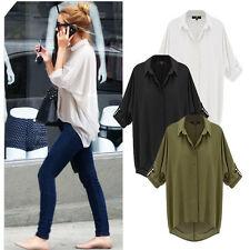 Damenblusen,-Tops & -Shirts im Blusen-Stil mit Langarm-Ärmelart für Freizeit