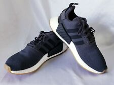 189f1df2a8d8c Adidas NMD R2 Utility Blue Gum Boost Shoes Men s Sneakers Size 10.5 CQ2400