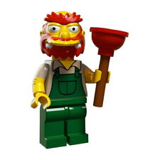 Minifigura Lego SIM039 Groundskeeper Willie - Original 71009-13 Simpsons Serie 2