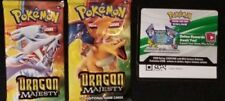 2X LOT DRAGON MAJESTY TCG Online Codes Lot DELIVERY BY EBay Msg