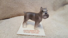 Hagen Renaker Dog Schnauzer Figurine Miniature Collect New Free Shipping 00898