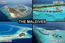 SOUVENIR FRIDGE MAGNET of THE MALDIVES