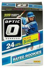 2019 Panini Optic Donruss 24 Baseball Cards Fast/