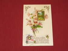 1911 Sweet Peace within your heart til Holy Easter comes again Postcard #426 VG