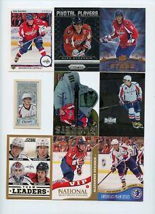 Lot Of (83) Alexander Ovechkin Premium Insert Cards Artifacts /999 Prizm Metal +