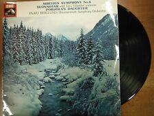 33 RPM Vinyl Sibelius Symphony No 6 EMI Records ASD3155 Stereo 022715SM