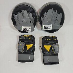 EVERLAST Advanced Punch Mats Boxing MMA Training Plus Bonus Gloves!