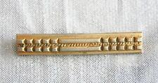 Bar Brooch 19th Century Antique Victorian Gold-tone & Silver-tone