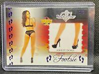 Benchwarmer - Vegas Baby 2020 - Footsie card - Ashley Doris - 2/2 Purple Foil