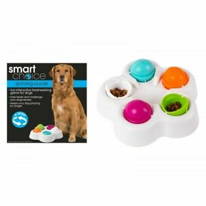 Smart Choice Spinning Puzzle Interactive Dog Game Dog Toy Dog Treats Pet Food