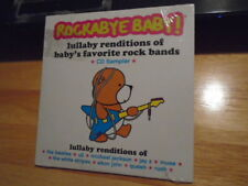 SEALED PROMO Rockabye Baby! CD White Stripes MICHAEL JACKSON Beatles QUEEN Rush