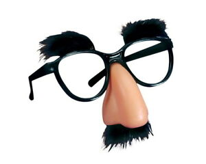 1 Groucho Marx Costume Funny Beagle Puss Eye Glasses Nose Mustache Party Favor