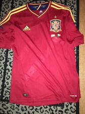 Adidas Clima cool  Campeones Spain Espana Euro 2012 Poland-Ukraine shirt Medium
