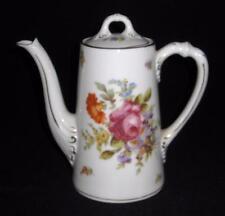 Schwarzburg, Royal Schwarzburg, 1902-24, Roses, Flowers, 2 Cup, Mini Coffee Pot