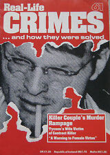 Real Crimes Issue 61 Charlie Starkweather & Caril Fugate, Barbra Gaul
