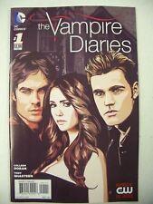 The VAMPIRE DIARIES # 1 Comic Book CW TV Series DC Comics 1ST PRINT VF/UNREAD