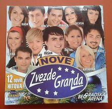 CD Nove Zvezde Granda 12 Novih Hitova Beogradska Arena Grand Production Folk