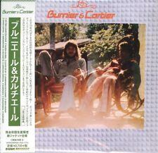 BURNIER & CARTIER-S/T-JAPAN MINI LP CD Ltd/Ed G09
