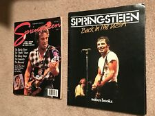 SPRINGSTEEN – BACK IN THE USA & SPRINGSTEEN COLLECTOR'S EDITION MAGAZINE  GREAT
