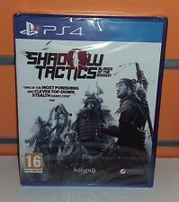 Shadow Tactics: Blades of the Shogun PS4 NUOVO ITA