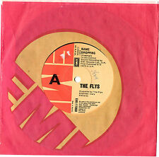 "THE FLYS - NAME DROPPING / FLY V. FLY 7"" 45 VINYL RECORD 1979"