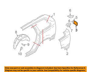 VOLVO OEM 01-09 S60 Fuel Door-Gas Cap Hatch 9187720