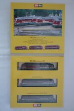 Brawa - N Gauge 1412 Three Historical Vatianten Br 234 Boxed (14.EI-218)