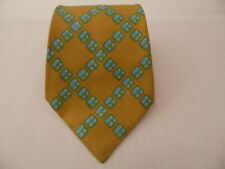 DIOR FOR STOCK SOLID SILK TIE SETA CRAVATTA VINTAGE MADE IN FRANCE  X5408