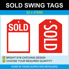 32 x 47mm Swing Tags - SOLD
