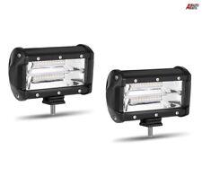"2 Pcs  5"" 72w Car 12v 24v Led Work Spot Lights Spotlight Lamps Van Atv Offroad"