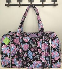 NWT Vera Bradley Large Duffel Bag Travel Tote Bag Alpine Floral RP $85