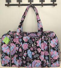 NWT Vera Bradley Large Duffel Bag Travel Tote Bag Alpine Floral RP $85