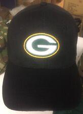Green Bay Packers Black Baseball Hat Free Shipping