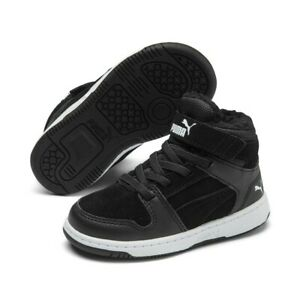 Puma Rebound Layup Fur SD V Inf Baby Toddler Shoes Trainers