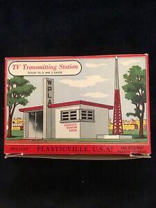 Bachmann Plasticville TV transmitting Station 1618 Building Kit NOS