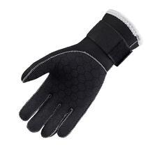 Adult Children Black Keep Warm Anti Scratch 3mm Neoprene Scuba Diving Gloves