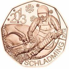 5 Euro Österreich 2012 in Kupfer - Österreich Ski WM Schladming 2013