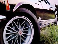 1970 FORD MUSTANG MACH 1 VINTAGE WHEEL AD*GT/1969/grille/emblem/fender/decal/svt