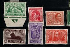 New Zealand 1919 Victory set  SG 453-58 Mint MH MLH