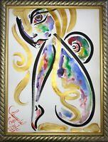 Margarita Bonke Malerei PAINTING art Bild erotica erotika akt abstract aquarell