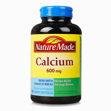 Nature Made 600 mg calcium with vitamin D, 400 IU support strong bones 110 ct