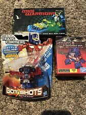 Transformers Bot Shots Series 2 B004, Loyal Subjects, Mini Warrior Bundle Lot