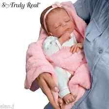 Ashton Drake Cuddle Caitlyn Weighted Poseable lifelike Doll