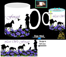 More details for animals of the wars we will remember them remembrance purple poppy lest we forgt